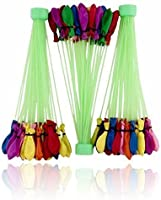 Toyshine 60 Seconds Fill & Automatic 111 Tie Multi Colored Magic Water Balloons (111 Balloons)