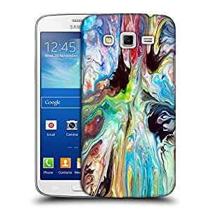 Snoogg Multicolor Abstract Art Designer Protective Back Case Cover For Samsung Galaxy Grand 2