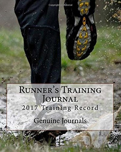 Runner's Training Journal: 2016 Training Record por Genuine Journals