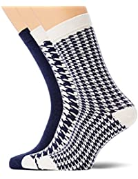 Wesc Stanie Dogtooth 3-Pack Socks, Chaussettes Homme