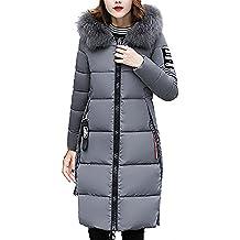 Mujer Invierno Casual Más Gruesa Abrigo Parkas Militar con Capucha Chaqueta  de Acolchado Anorak Jacket Outwear 9a702c64b114