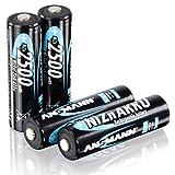 ANSMANN Akku Batterie Nickel-Zink wiederaufladbar Mignon AA Akku 2500mWh
