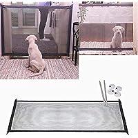 Los cachorros outlet cachorro plegable parque infantil Animal Playpen para perros gatos, puertas de la escalera abren N Detener escalera / puerta rejillas ...