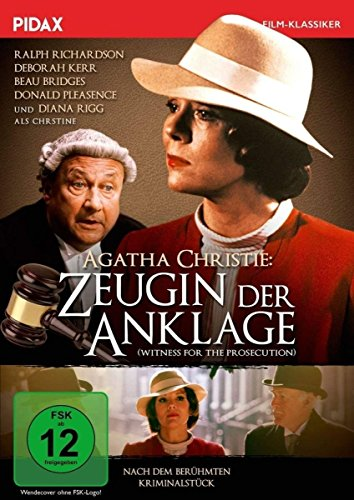 Bild von Agatha Christie: Zeugin der Anklage (Witness for the Prosecution) / Fulminante Verfilmung des Agatha Christie-Klassikers mit Starbesetzung (Pidax Film-Klassiker)
