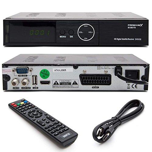 PremiumX HD Sat Receiver HD 500 FTA im Test