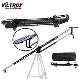 Viltrox YB-3M 300cm/118' Telescópico Brazo Grúa de Cámara de Aleación Aluminio para DSLR vídeo y videocámaras, capacidad de carga 5 kg