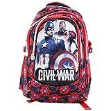 Marvel Captain America Civil War Rucksack Kinderrucksack Freizeit Schultertaschen Reise Running