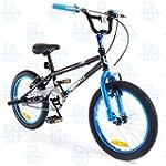 """SilverFox BMX Plank 18"""" Bike - Black..."""