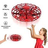 YORKOO Jouets pour Filles Garçons 3-8 Ans Ballon Volant Mini Drone Enfant Jeux Quadricoptère Cadeaux Enfants Hélicoptère Télécommandé UFO