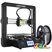 """ANYCUBIC MEGA-S 3D Printer Printing Size 210 x 210 x 205mm With UltraBase Heated Build Plate UK Plug, 3.5"""" Touch Screen + Free 1kg PLA Filament, Works with TPU/PLA/ABS"""
