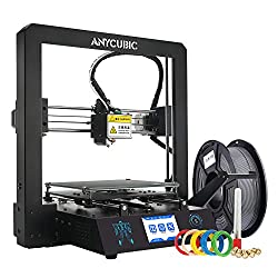 ANYCUBIC MEGA-S 3D Printer Printing Size 210 x 210 x 205mm With UltraBase Heated Build Plate UK Plug, 3.5