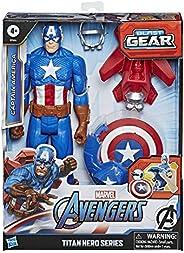Hasbro Avengers Titan Hero Blast Gear - Captain America