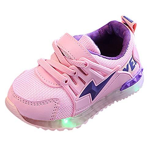 YanHoo Zapatos niños Zapatos Antideslizantes LED