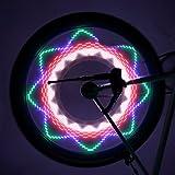 OUTAD-Luces-Impermeables-para-Radios-de-Bicicleta-32-imgenes-diferentes-interruptor-de-encendido