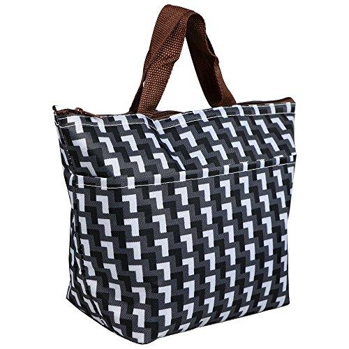 trixes-borsa-termica-da-picnic-motivo-a-losanghe-bianco-e-nero-isolata-tote