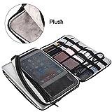 Drmee 33cm per PC portatile, elettronica gadget accessori organizer da viaggio/borsa/borsa protettiva per 33cm MacBook Air/Pro Retina/ultrabook di trasporto