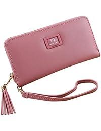 Wallets For Women,Saingace Women's Long Zipper Wallet Ladies Purse Clutch Wallet Card Holder Organizer Large Capacity...