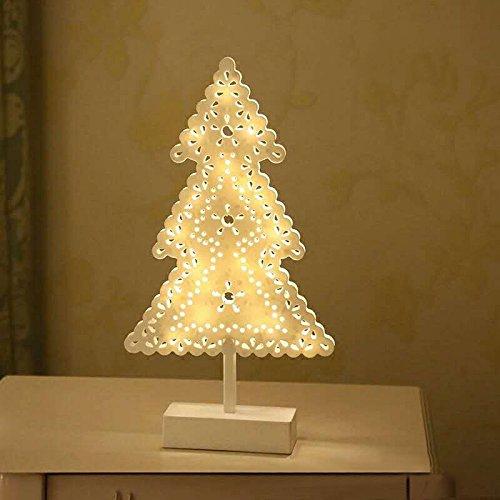 Tutoy Christmas LED Holz Tisch Mini nachtlicht Schreibtisch Lampe Hochzeit Schlafzimmer Weihnachten Dekor Geschenke - 3 - Christmas Onesies