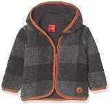 s.Oliver Junior Baby-Jungen Sweatjacke 65.810.43.3456, Grau (Dark Grey Melange Check 98n2), 86