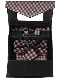 Aeht Men's Plain Tie Set