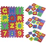 Malloom® bebé Niño Alfabeto número EVA espuma rompecabezas matemáticas educativo juguete