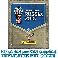 Panini FIFA World Cup Russia 2018 Album Stickers - 50 Packs