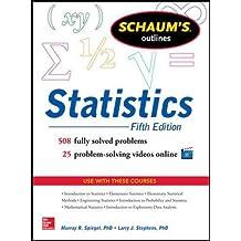 Schaum's Outline of Statistics (Schaum's Outlines)