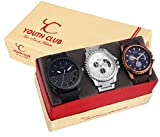 YOUTH CLUB COMBO-SMB57C33 Fashionable Casual Boys Pair Analog Watch - For Men