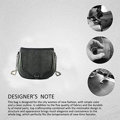 FoxLady ,  Elegant strukturierte Tasche für Frauen Schultertasche Grau