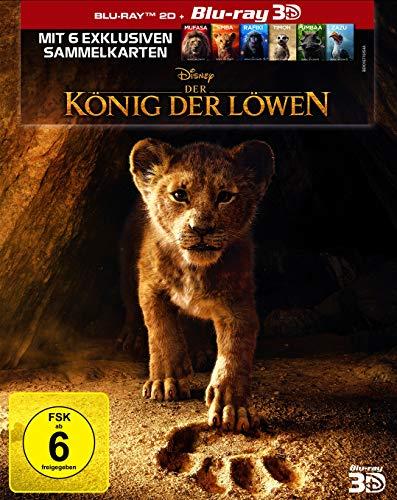 Der König der Löwen - Neuverfilmung 2019 [Limitierte 3D Blu-ray]