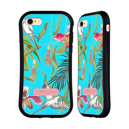 Ufficiale Turnowsky Flora e Fauna Tropicale 2 Havannah Case Ibrida per Apple iPhone 7 / iPhone 8 Flora e Fauna Tropicale 1