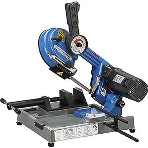 Fervi 0500 – Sierra de cinta electrónica de banco para hierro, motor con escobillas