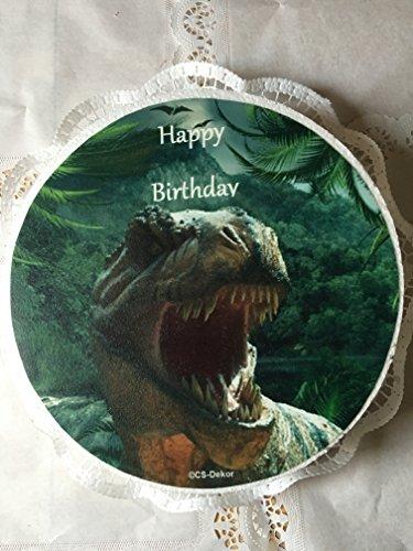 NEU !! XXL Tortenaufleger Dinosaurier 01 ( Durchmesser 30 cm )