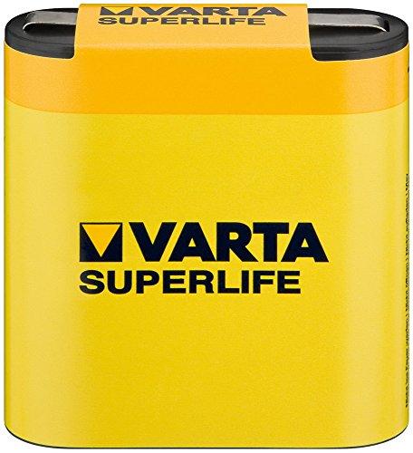 Varta Longlife 4,5V Zink-Kohle Batterie