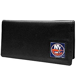 NHL New York Islanders Leather Checkbook Cover