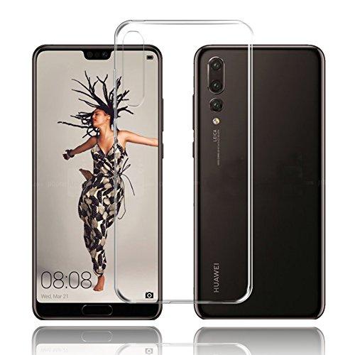Coque Huawei P20 Pro, TopACE Coque en TPU Souple et transparente Housse Etui Pour Huawei P20 Pro