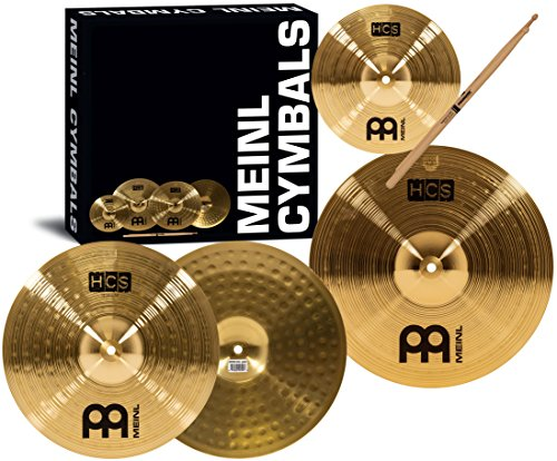 Meinl HCS1314+10S+TX5AW Set Piatti Hi-Hat e Crash con Splash 10""