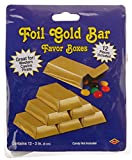 Folie gold Bar Favor Boxen (12/Pkg)