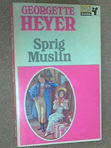 Sprig Muslin by Georgette Heyer (1968-11-05)