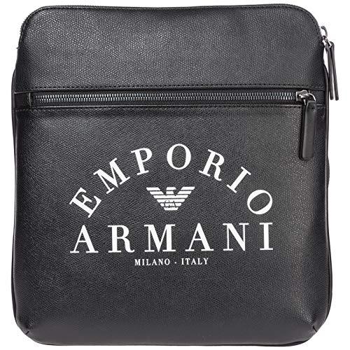 Emporio Armani bolsos con bandolera hombre black