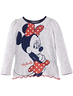 Disney - Maglietta Minnie Mouse, bambina