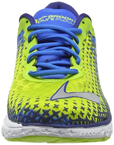 Brooks Pureflow 5, Chaussures de Running Compétition Homme Jaune (Blau/Gelb)