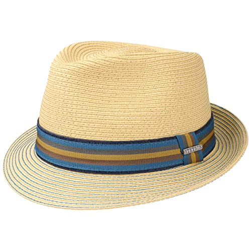 f18f0c2243080 Munster Toyo Trilby Hat Stetson trilby straw hat (S 54-55 - nature