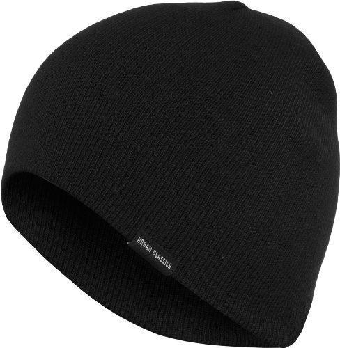 Urban Classics - Basic Beanie - Black - One-Size