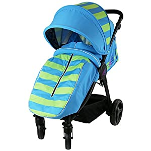 iSAFE Sail Stroller - 7 Colours! (Ocean/Lime)   4