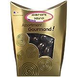 Les douceurs de Valentin Amandes et Noisettes Chocolat Noir Extra Fin 200 g -