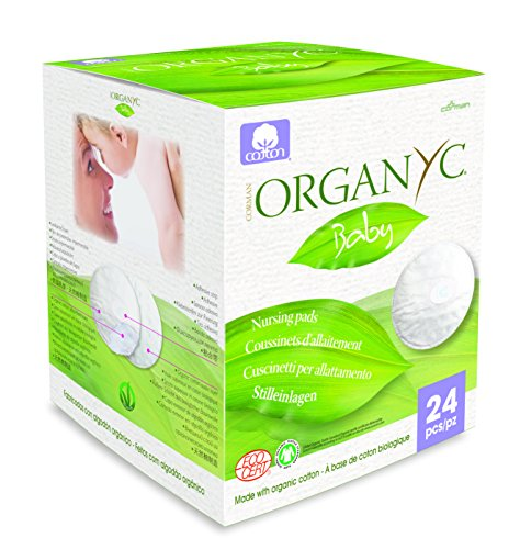 Organyc Nursing Pads 100% Organic Cotton (24 Count)