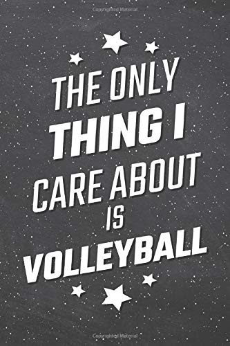 e About Is Volleyball: Volleyball Notebook, Planner or Journal | Size 6 x 9 | 110 Lined Pages | Office Equipment, Supplies |Funny Volleyball Gift Idea for Christmas or Birthday ()