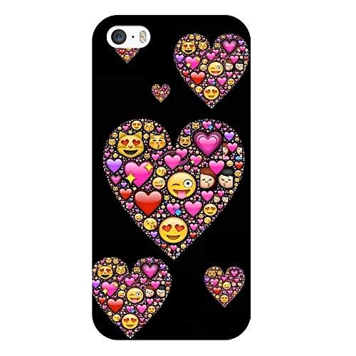 Coque Iphone 5C Smiley coeur fun love emojii emoticone