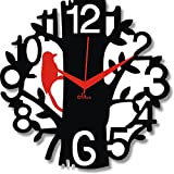 2 O Clock Red & Black Birdie Wall Decora...